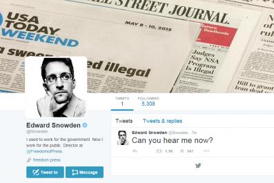 Snowden Screenshot