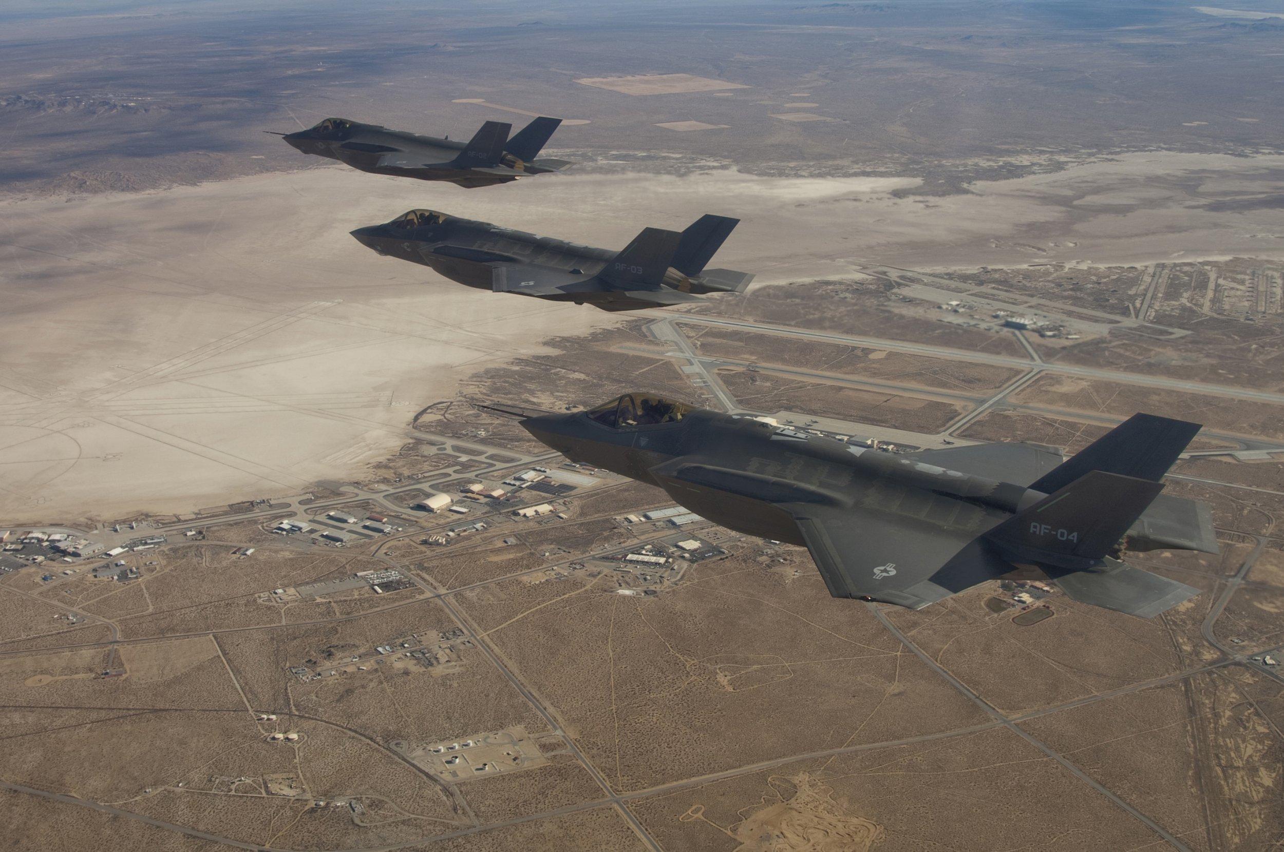 0929_Fighter Jets F35 Pentagon