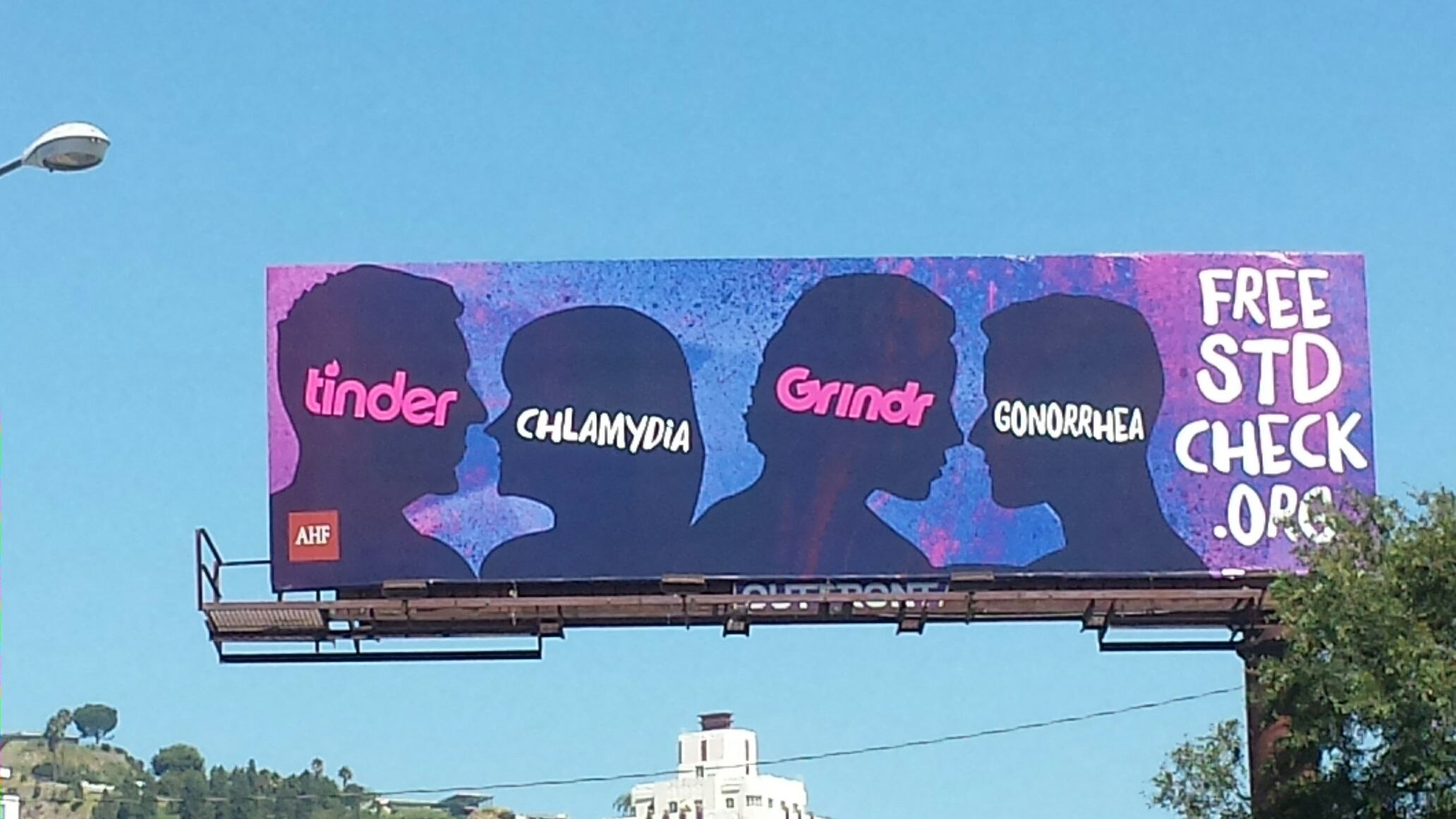 Senior Dating Sites >> Tinder Clashes With AIDS Healthcare Foundation Over STD Billboard