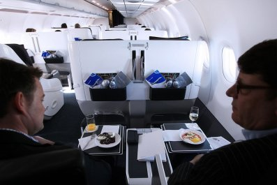 Business-class only flights