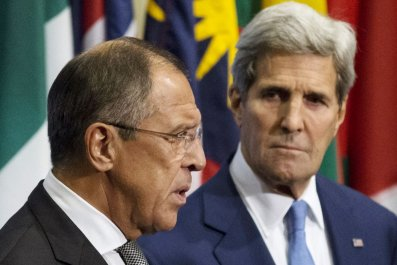 Russia and U.S. holding talks