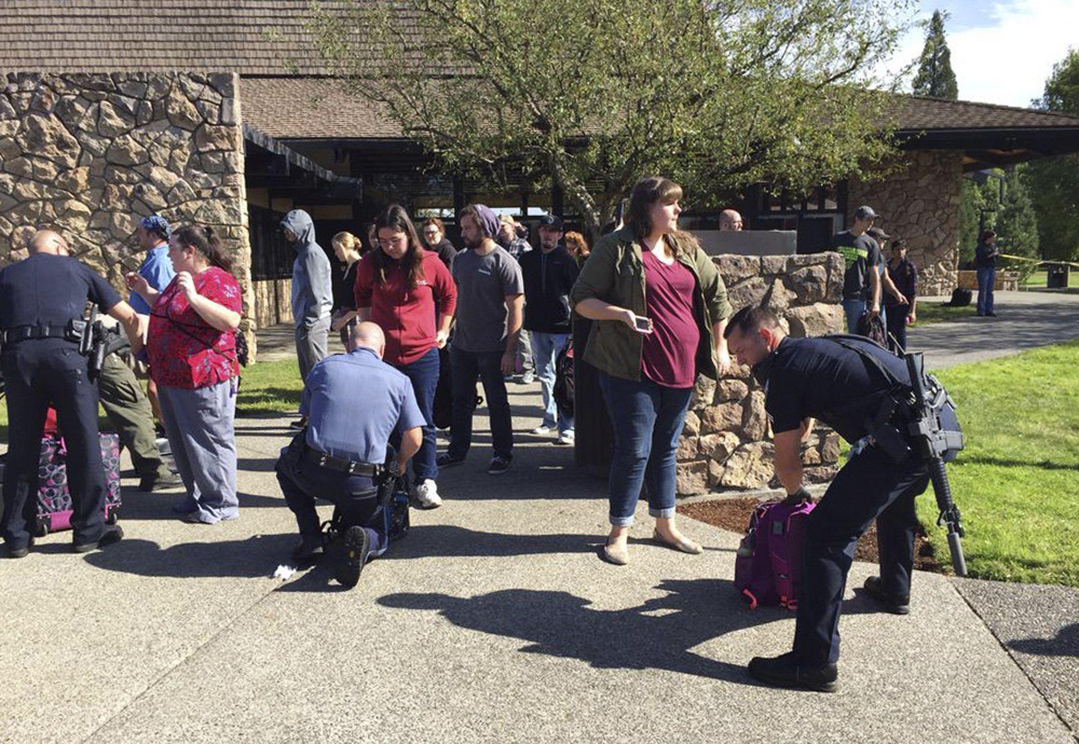 Umpqua school shooting