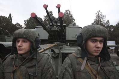 Russian marines deployed to Syria