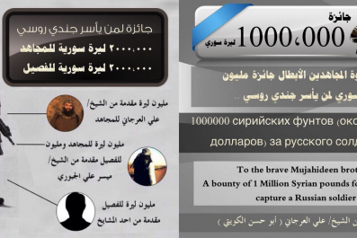 Nusra Front Bounty ISIS Syria Russia