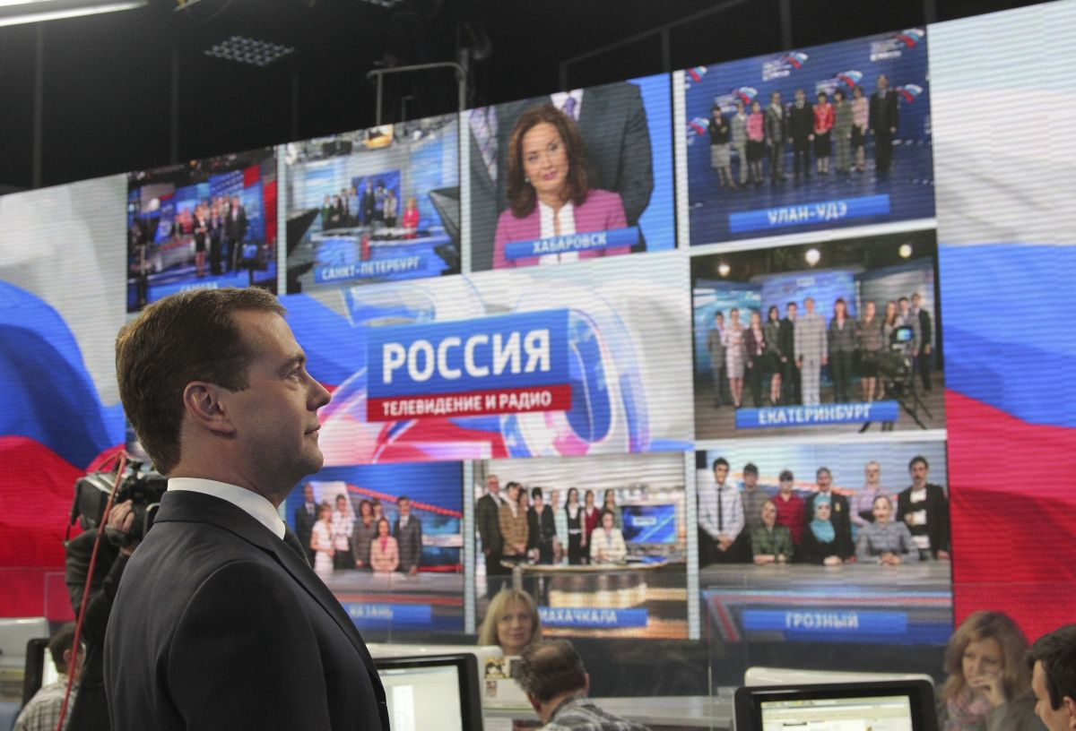 Russian TV says October ideal bombing weather