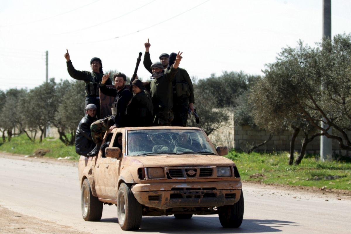 Rebels Syria Iran Saudi Arabia Russia