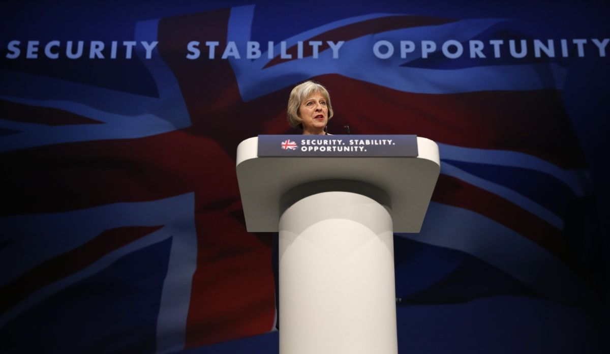 Theresa May Immigration Economy Speech
