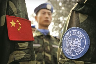 China U.N. peacekeeper troops