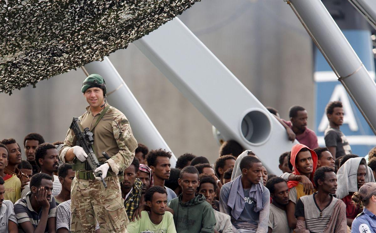 EU begins boat patrols