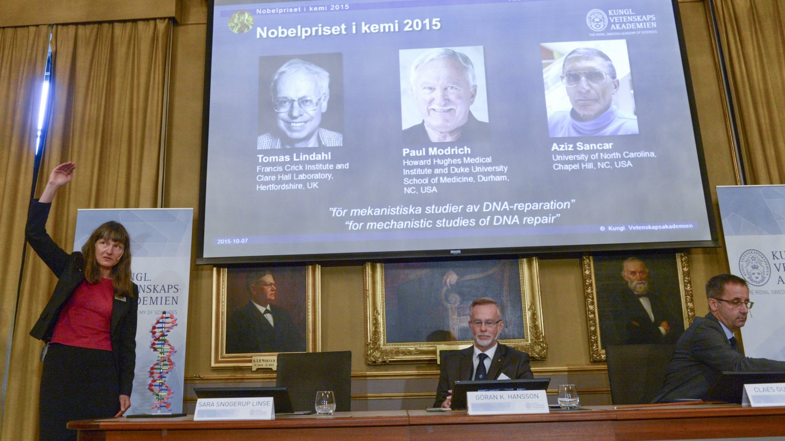 Nobel Prize for Chemistry Goes to Work