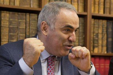 Kasparov Putin Syria Chaos