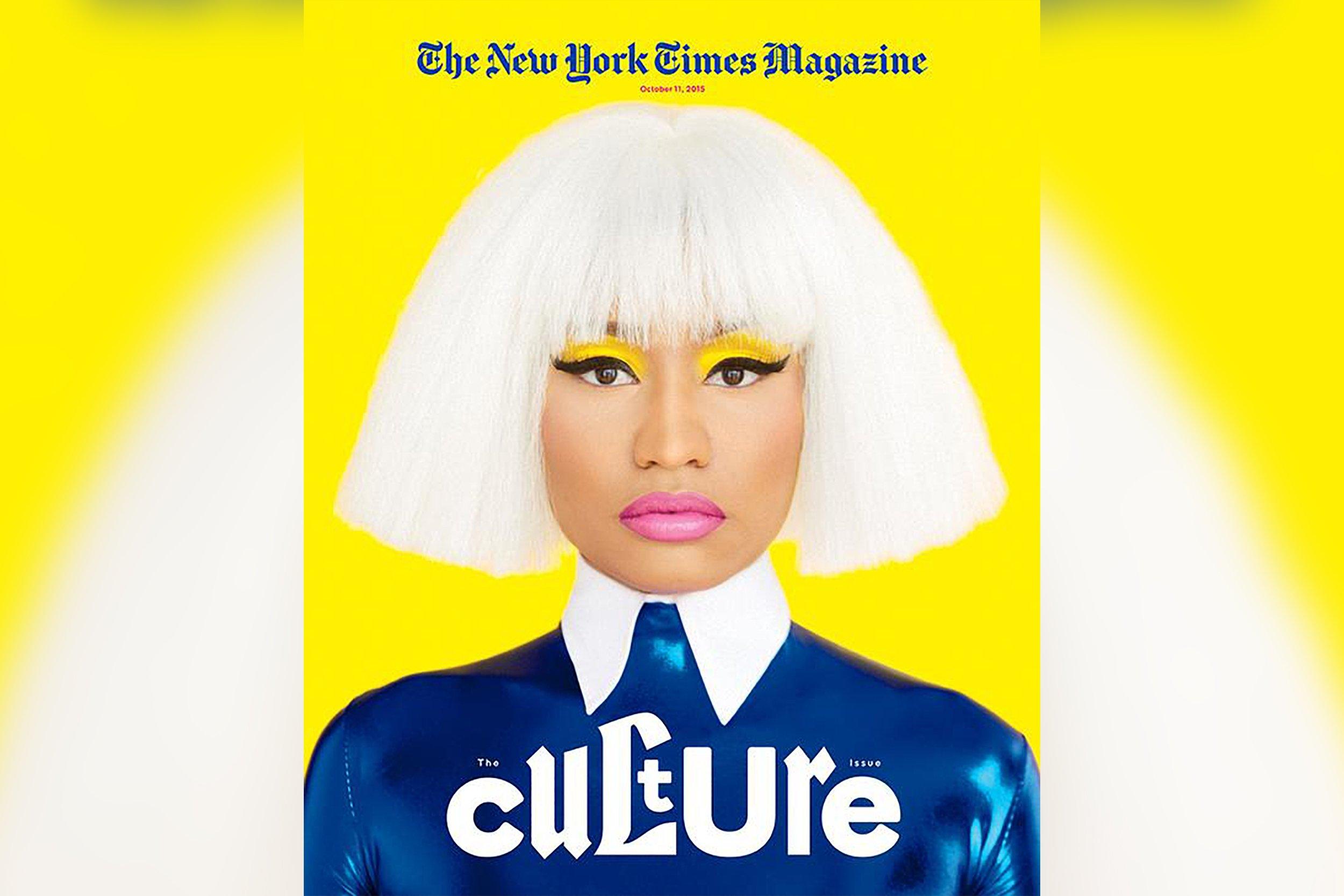 10-7-15 Nicki Minaj NYT Mag