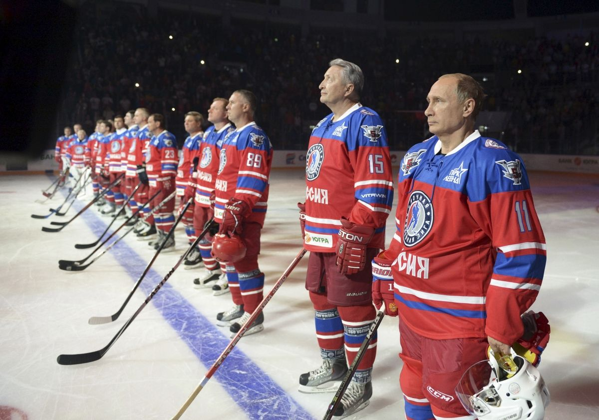 Putin Birthday Hockey