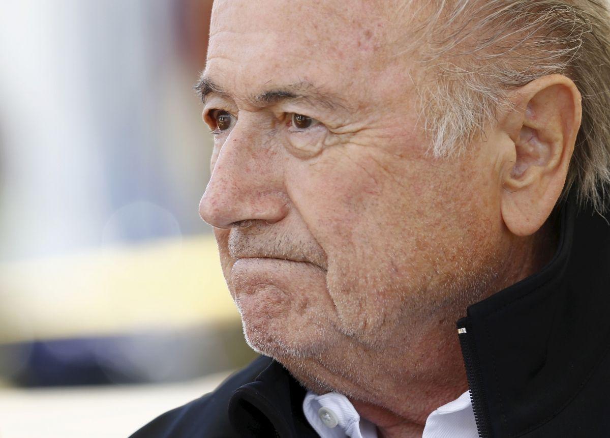 Sepp Blatter suspended for 90 days