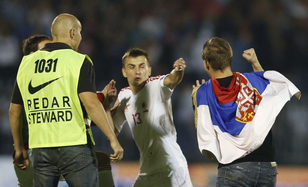 Albania Serbia qualifier Euro 2016