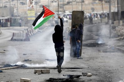 Palestinian Middle East Saeb Erekat Clashes