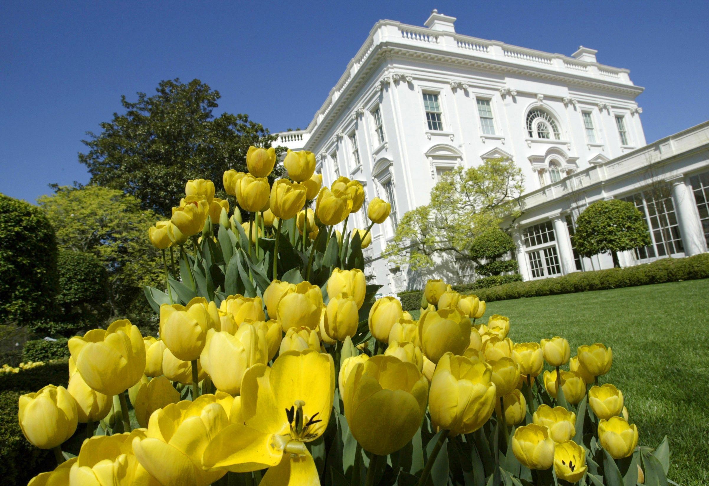 White House Garden Tour Entrance House Plan 2017