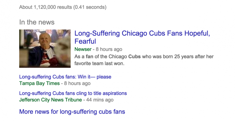 Long-Suffering Cubs