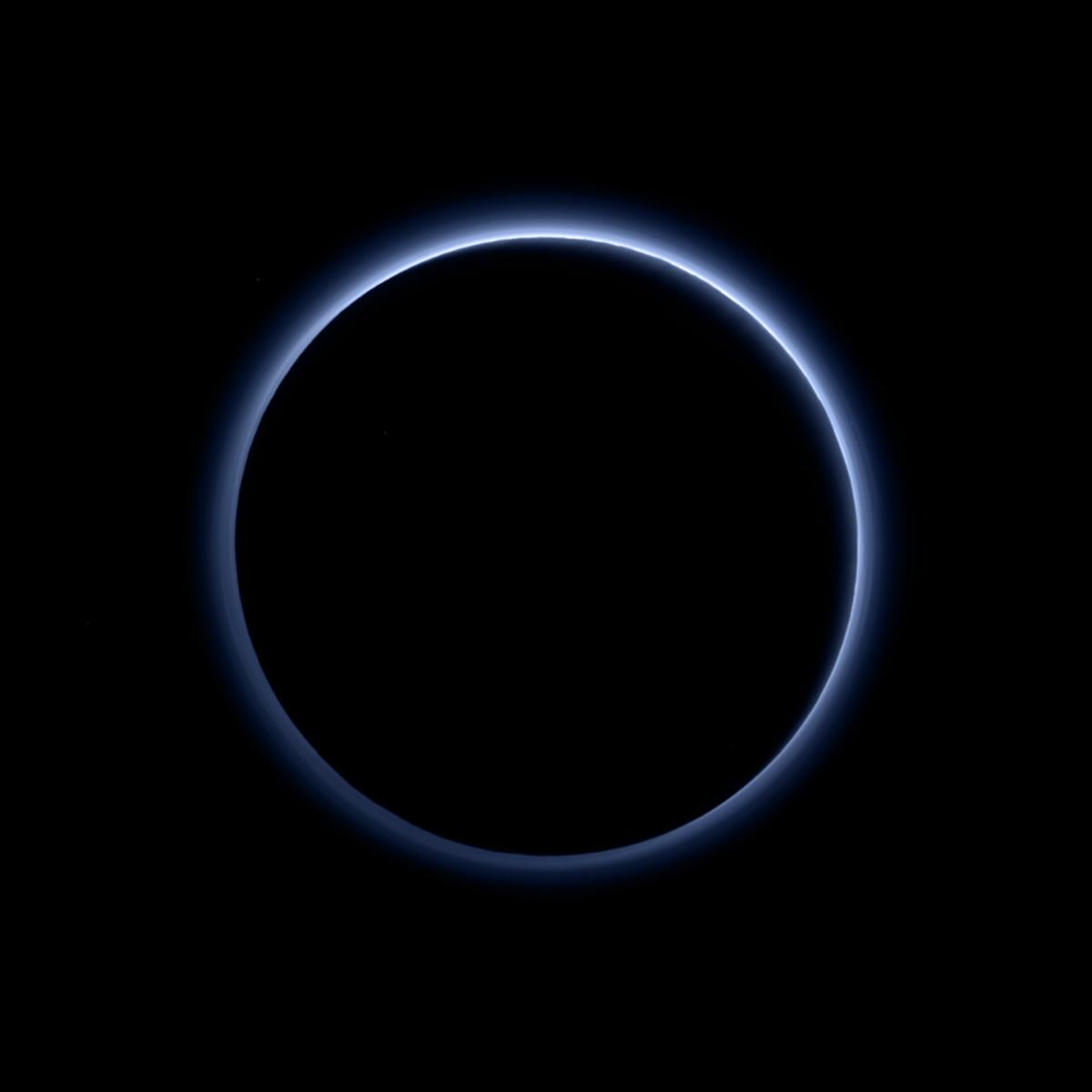 10-9-15 Pluto Blue Skies
