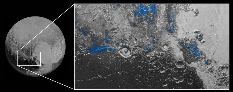 10-9-15 Pluto Water Ice