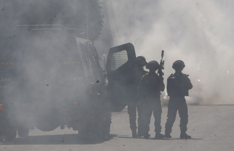 Israel West Bank Intifada Unrest