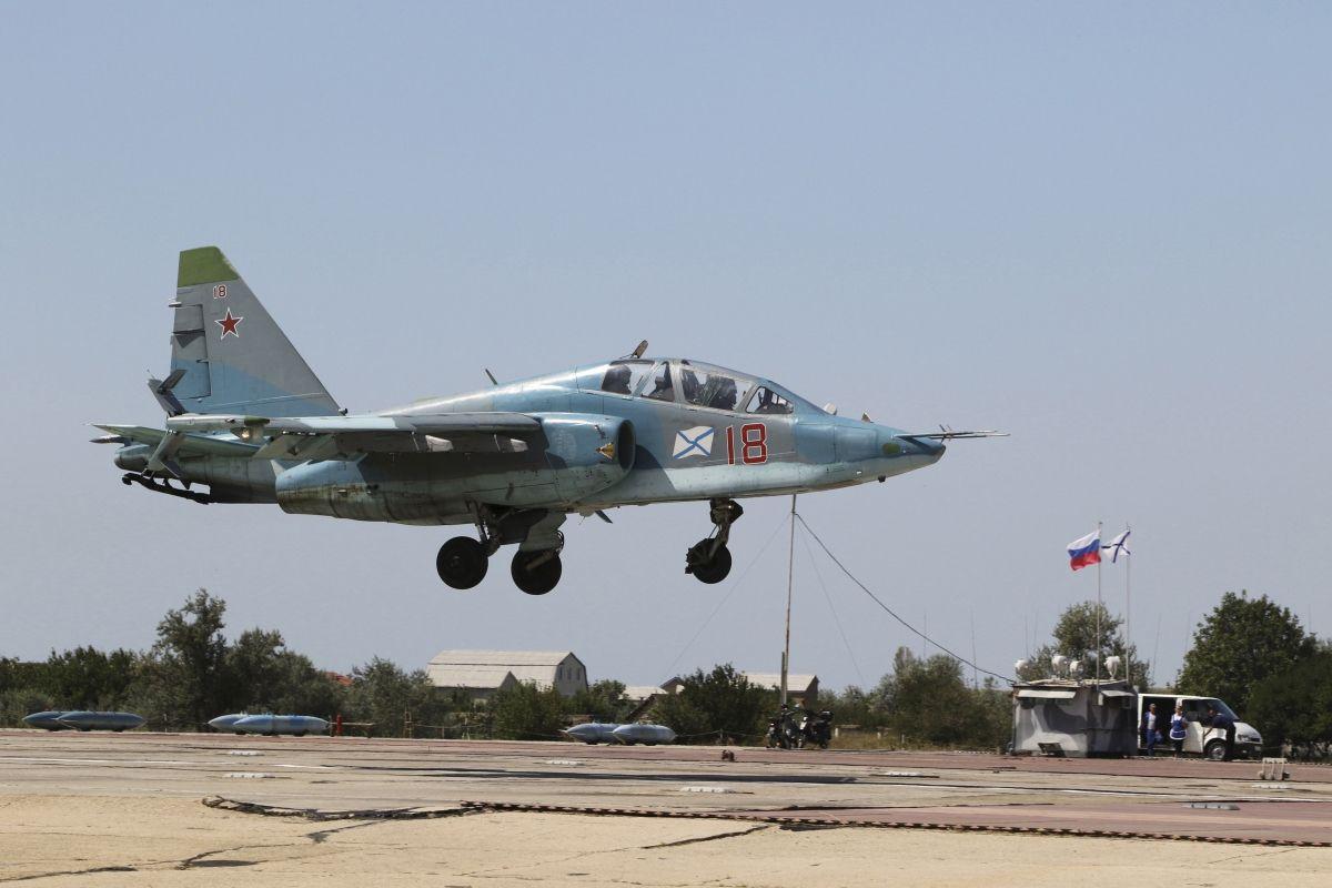Russia airstrikes ISIS Syria