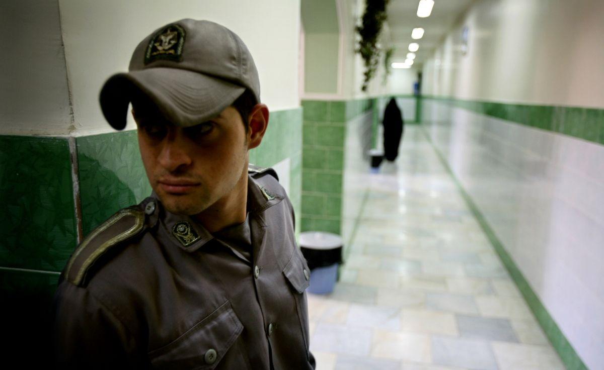 Evin prison guard