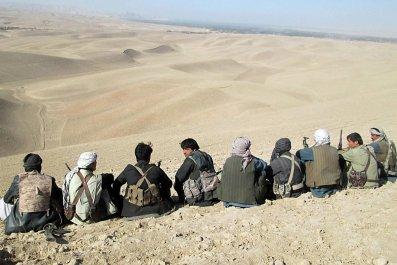 Afghan security forces and volunteer militias