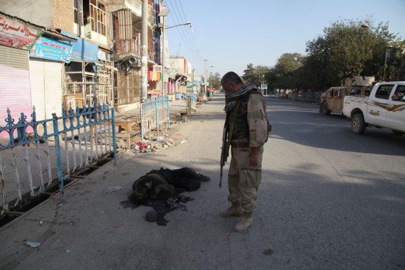 Afghan security officer