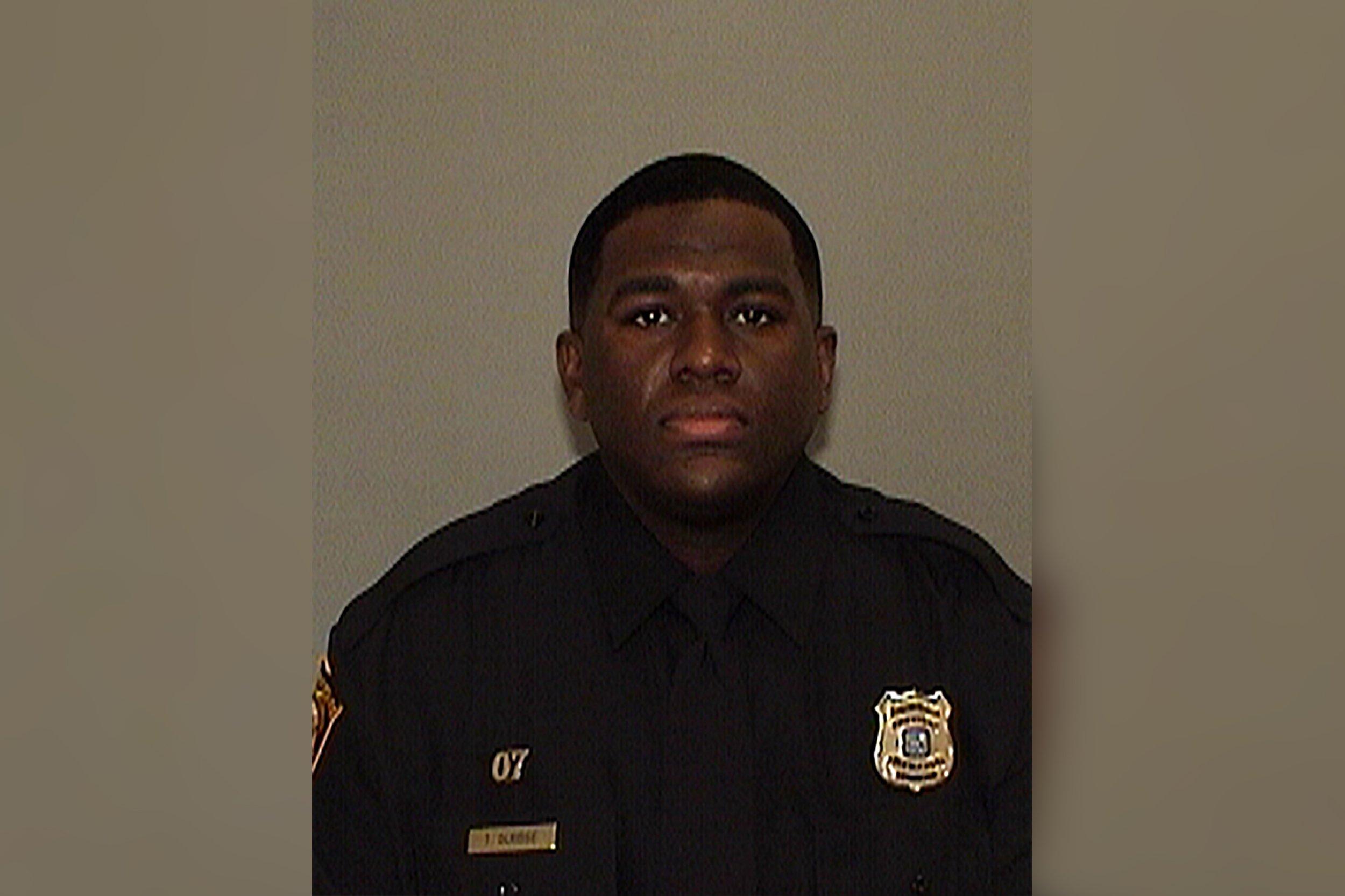 Memphis Police Officer Terence Olridge.
