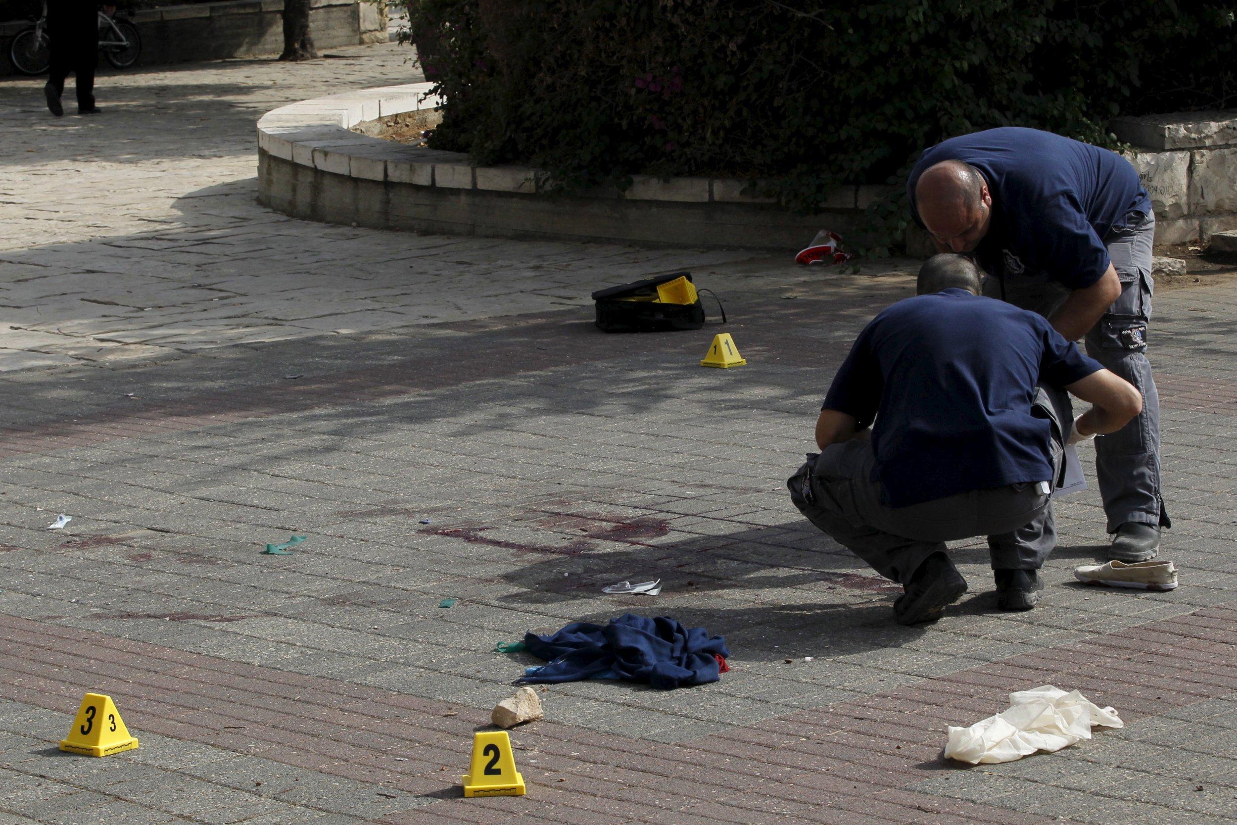 Palestinian stabbings