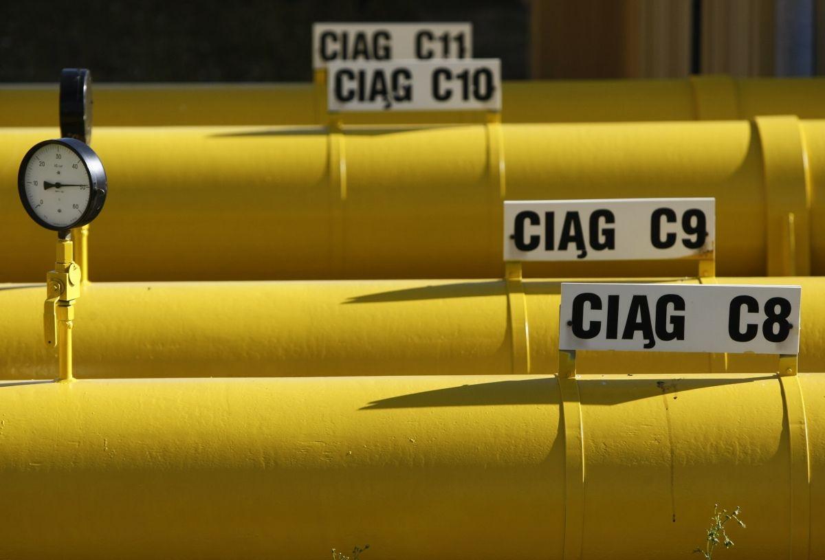 Gas Pipeline Poland To the Baltics