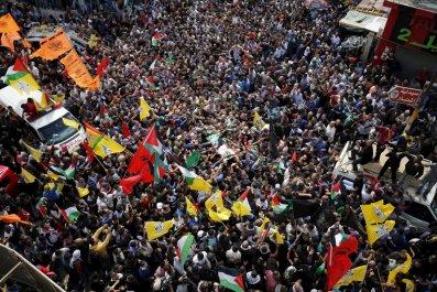 Israel Palestine Attackers Jerusalem West Bank Bodies