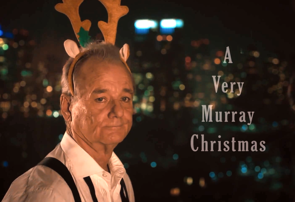 Murray Christmas.Netflix Prepares For A Very Murray Christmas