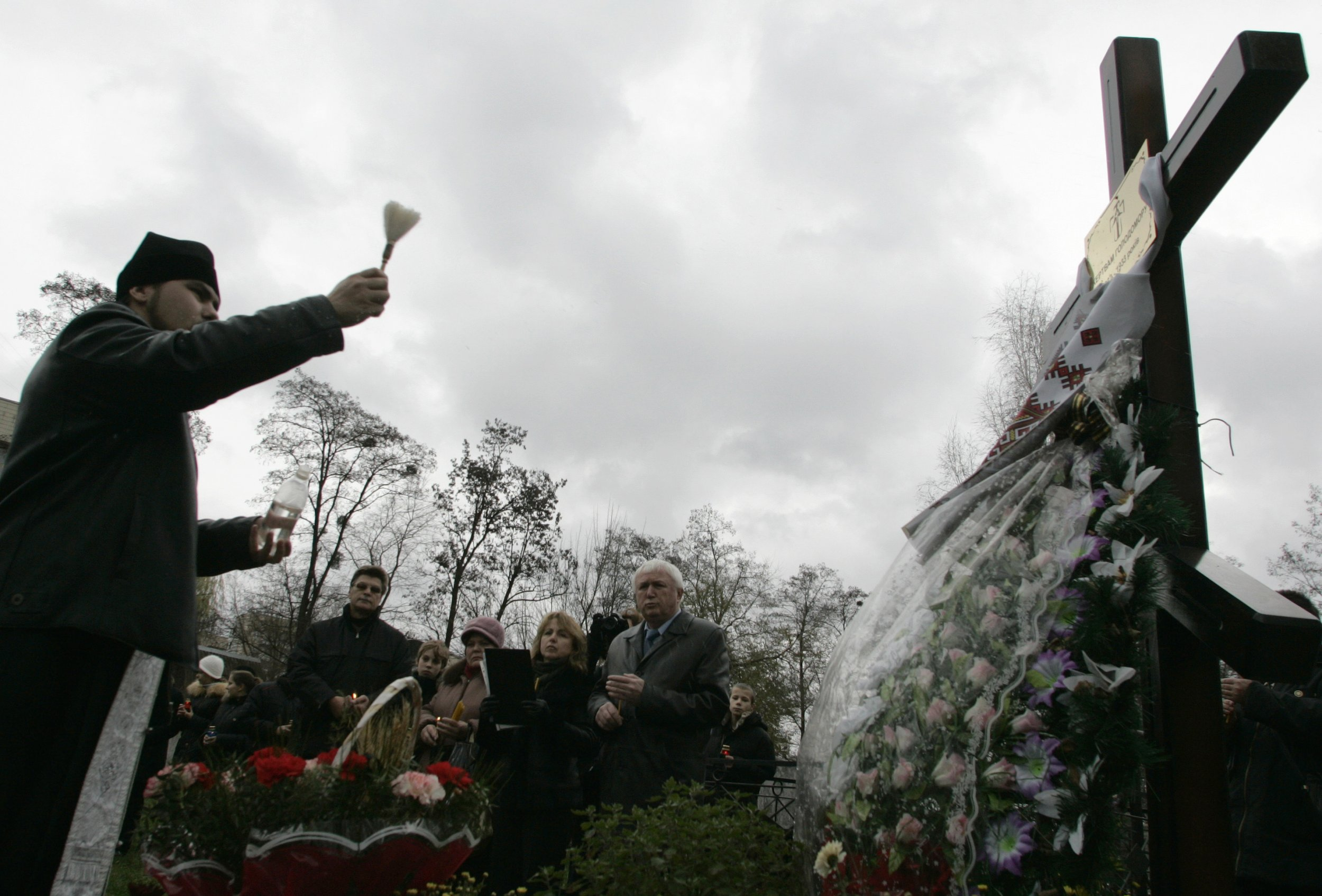 The United States officially recognized the Holodomor as genocide