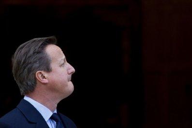 David Cameron Passport Terror