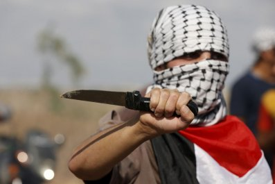 Israel Knife Attack Middle East Jerusalem