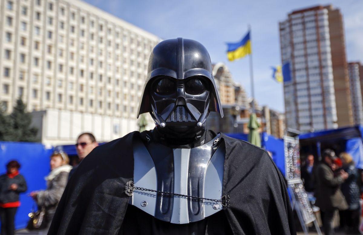 Darth Vader Internet Party Ukraine