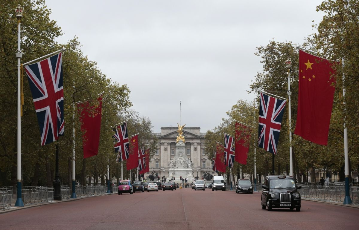 Chinese State Visit To Britain