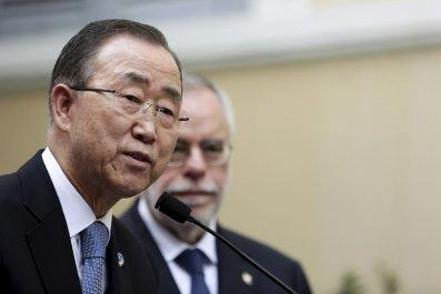 UN Ban Ki-Moon Israel Palestine