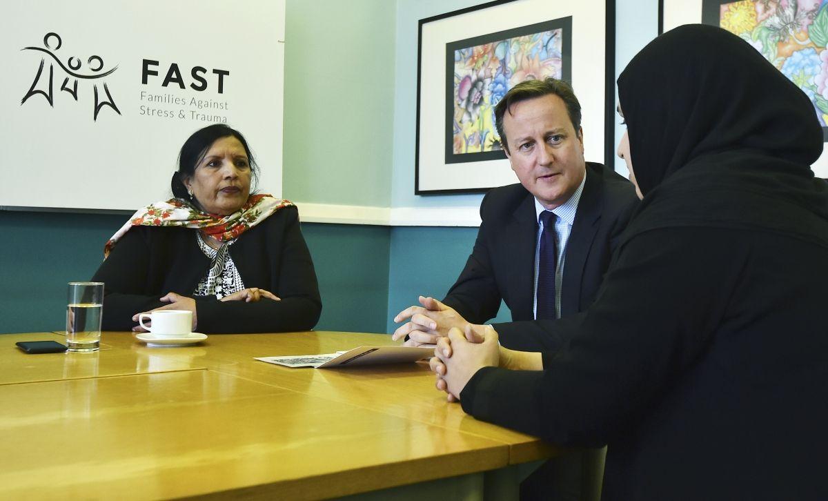 Cameron extremism