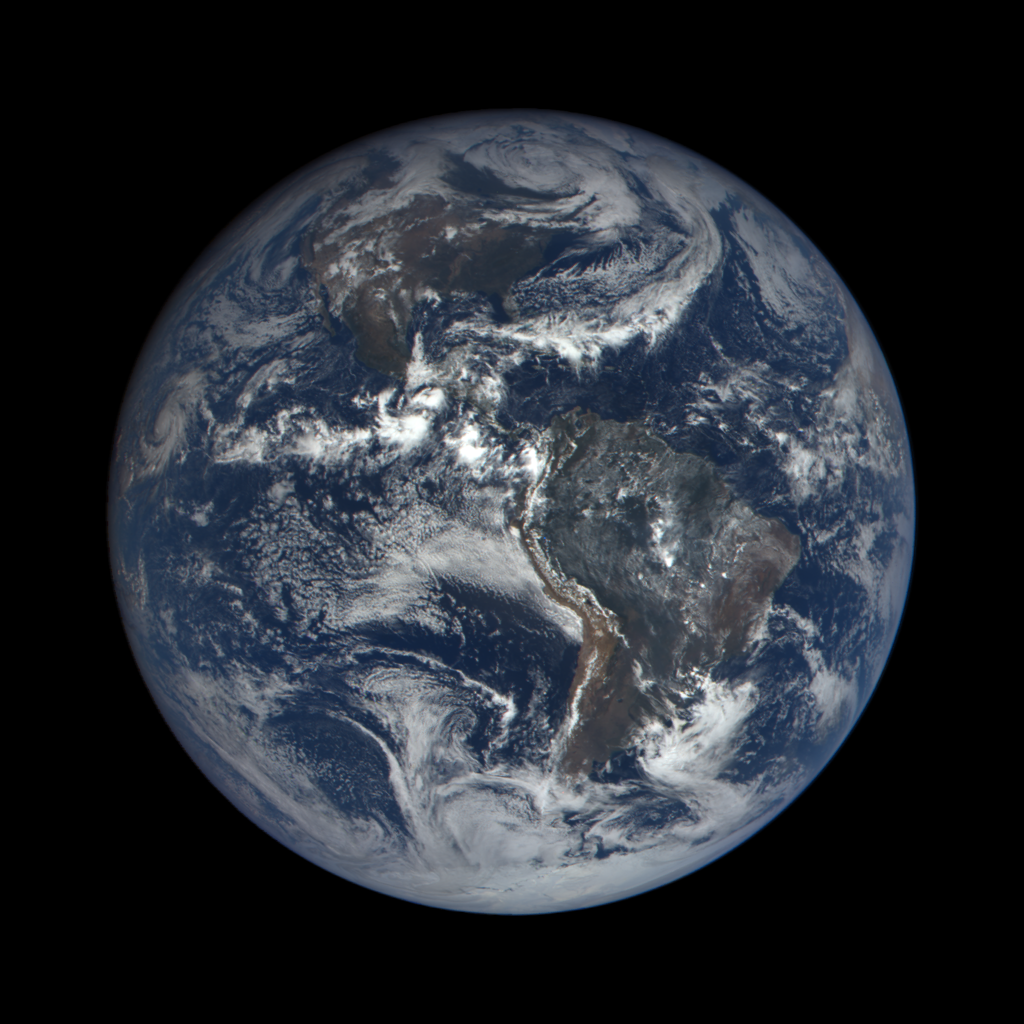 watch the earth as seen from space every day