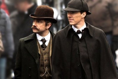 Sherlock Christmas special shown in China