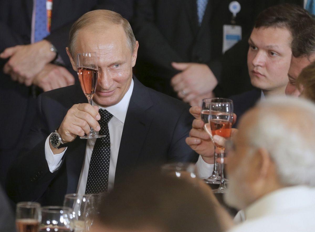 Putin approval record high