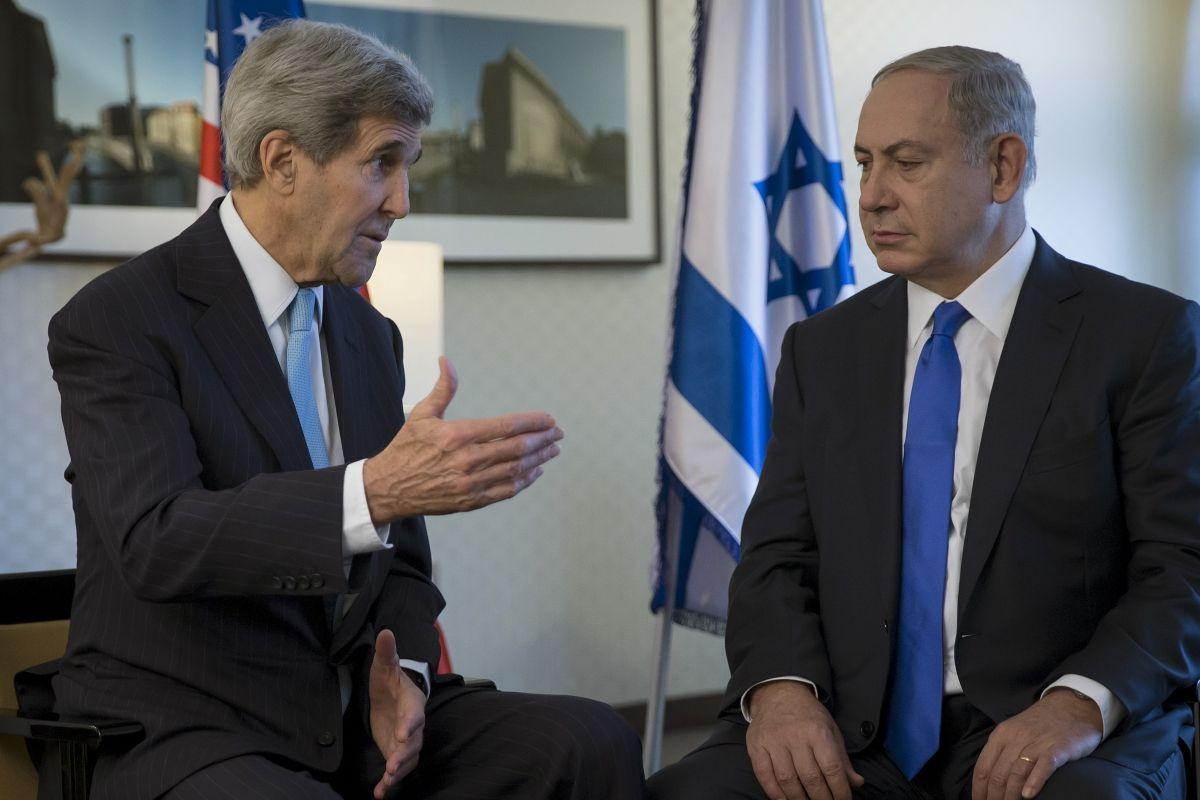 Israel Netanyahu Kerry Obama Middle East