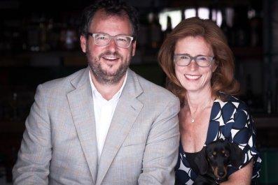 Iwan and Manuela Wirth