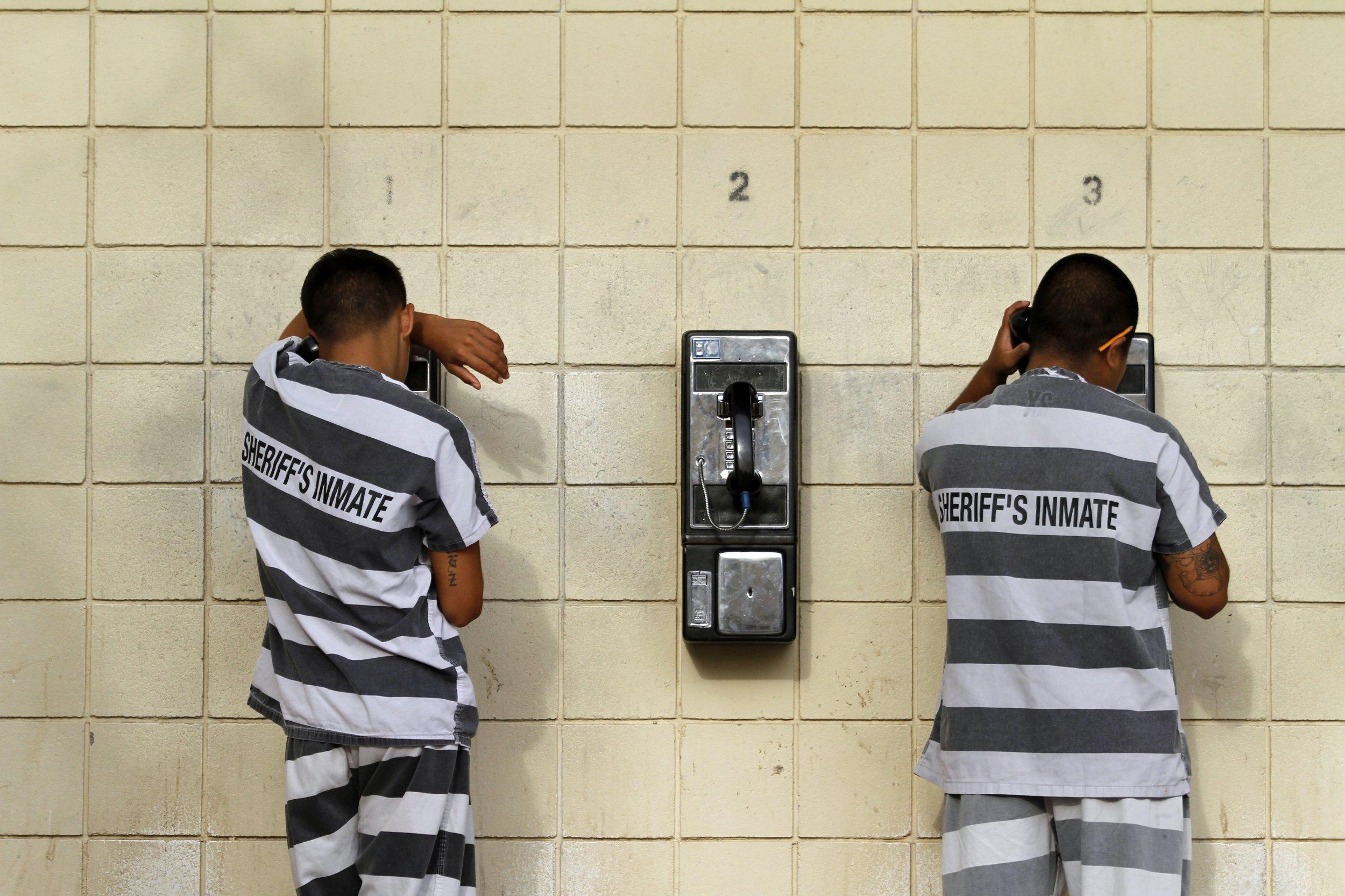 jail phone