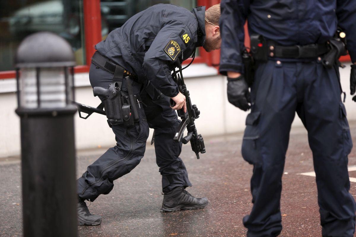 Police Sweden Europe School