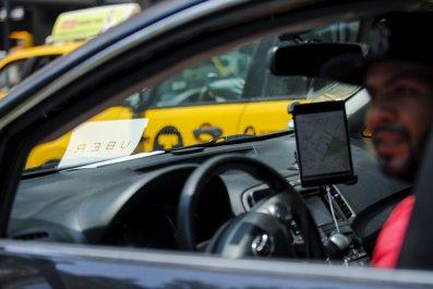 1023_Uber Yellow Cabs New York City