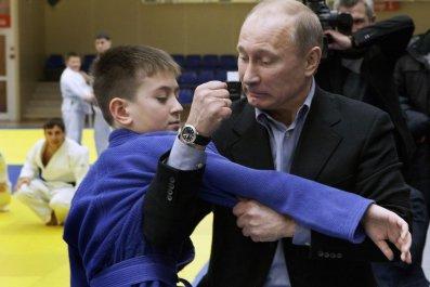 Putin street fight ISIS